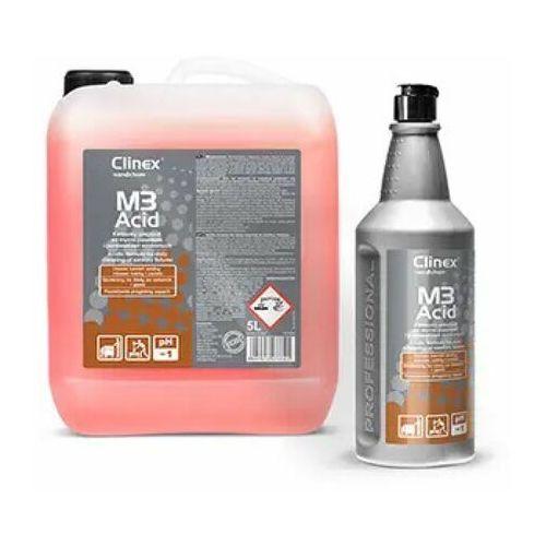 M3Acid Clinex 5L - Kwasowy preparat do mycia posadzek i pomieszczeń sanitarnych