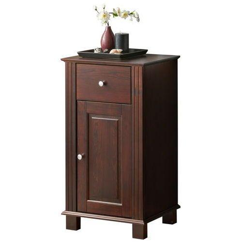 Drewniana szafka łazienkowa niska RETRO NOWE FSC 810, kolor Drewniana