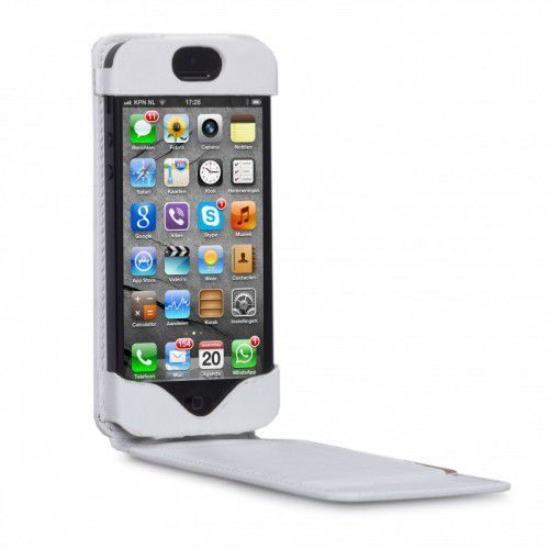 Etui Dbramante1928 Flip Down Case iPhone 5 - White, 5711428002488