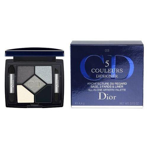 Dior 5 Couleurs Designer paleta cieni do powiek odcień 008 Smoky Design 4,4 g (3348900903005)