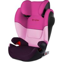 Cybex fotelik samochodowy solution m-fix silver, purple rain