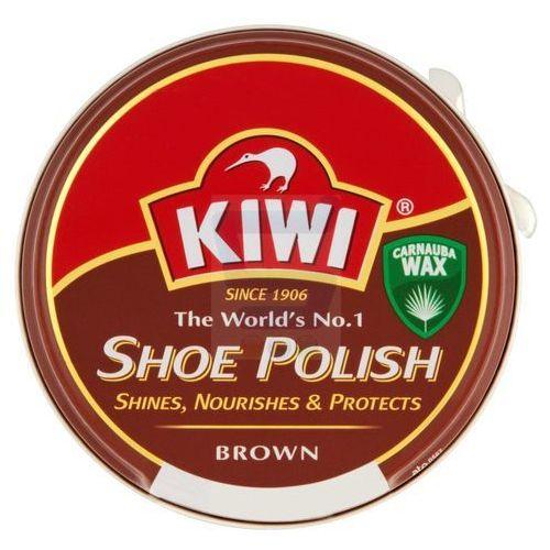 Pasta do obuwia Kiwi brązowa 50 ml