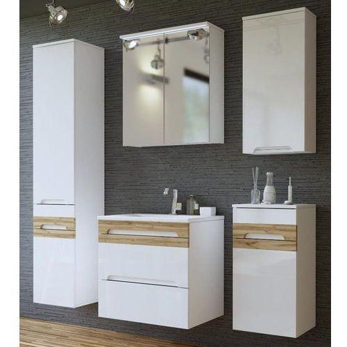Zestaw mebli łazienkowych GALAXY WHITE (800) SET 60 cm