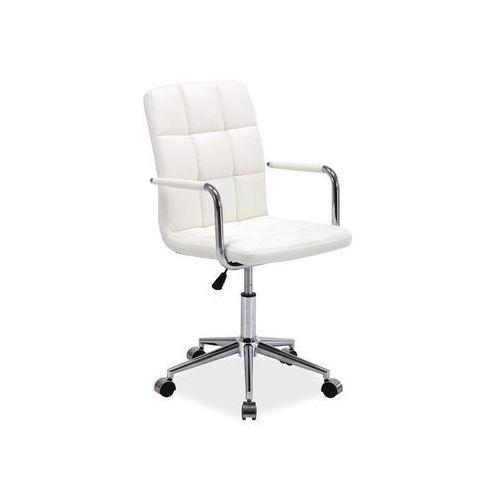 Fotel obrotowy, krzesło biurowe Q-022 white