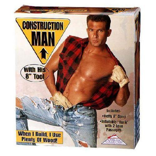 Dmuchany budowlaniec Man Sex Doll - produkt z kategorii- Lalki erotyczne