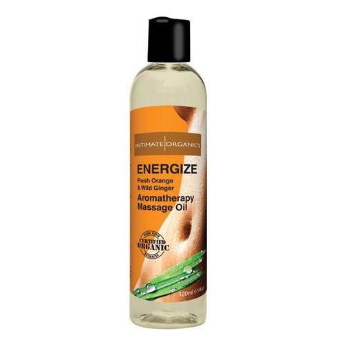Olejek do masażu organiczny - Intimate Organics Energize Massage Oil 120 ml