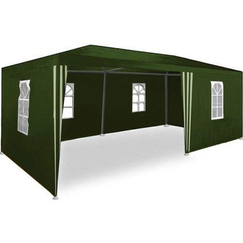 PAWILON OGRODOWY 3x6 6 ŚCIANEK NAMIOT HANDLOWY - Zielony. Najniższe ceny, najlepsze promocje w sklepach, opinie.