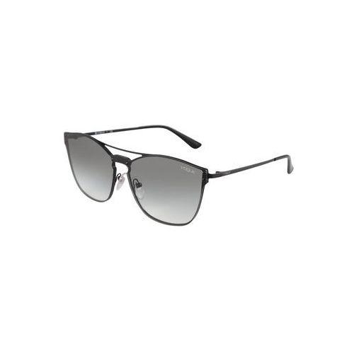 Vogue eyewear okulary przeciwsłoneczne szary / czarny (8056597067416)