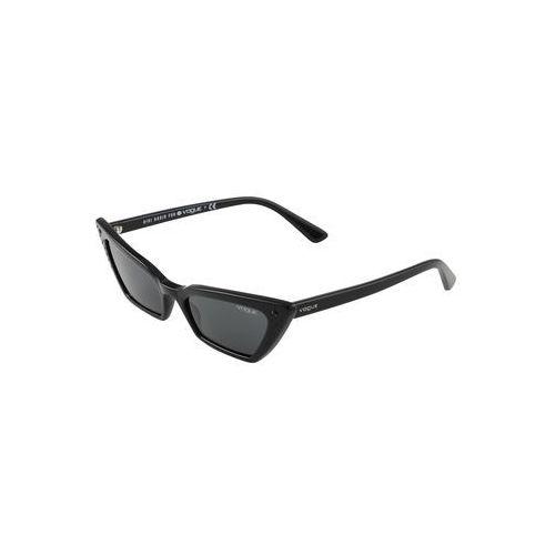 VOGUE Eyewear Okulary przeciwsłoneczne 'SUPER' czarny, kolor żółty