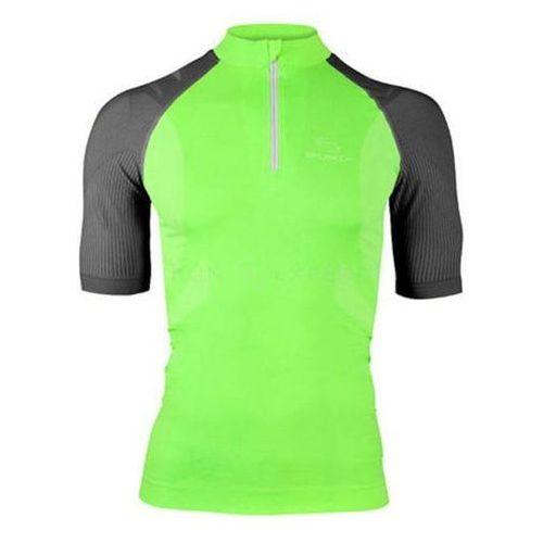 Brubeck ss10410 koszulka rowerowa zielony