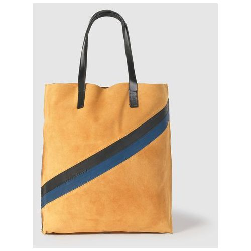 Elegancka duża torba z zamszu marki La redoute collections