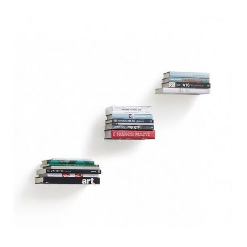 Umbra - zestaw 3 półek na książk, conceal