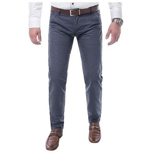 Spodnie męskie chinosy - gm-332 marki Risardi
