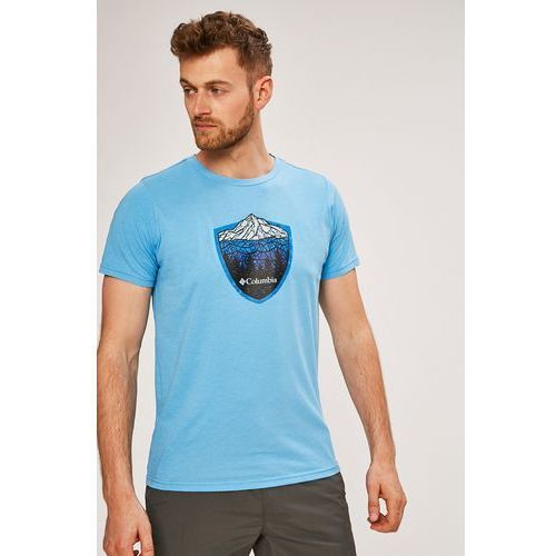 Columbia - t-shirt hillvalley forest