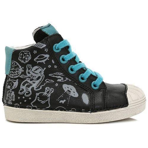 828fd2f0 D-d-step buty za kostkę chłopięce 29 czarny (2012727180055) - Zimowe
