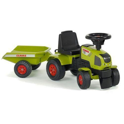 Falk axos 310 zielony traktor z przyczepką (3016200101222)