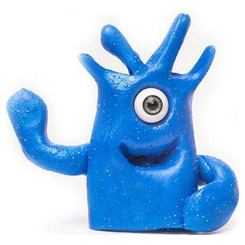 Sprytna plastelina Potworek - niebieska