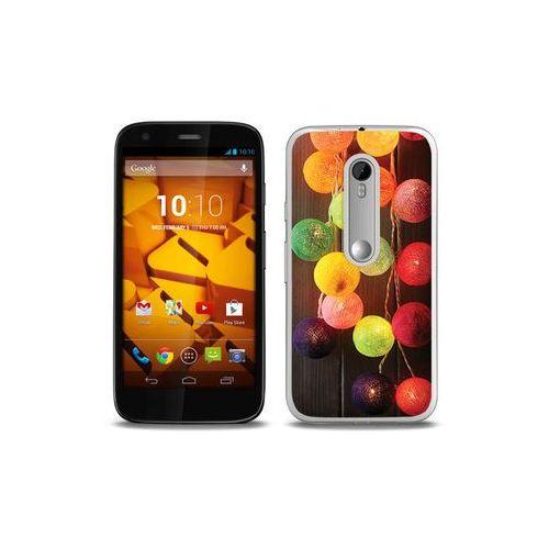 Foto Case - Motorola Moto G3 - etui na telefon Foto Case - lampki (Futerał telefoniczny)