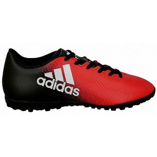 Buty  x 16.4 tf (bb5683) - czerwony/czarny marki Adidas
