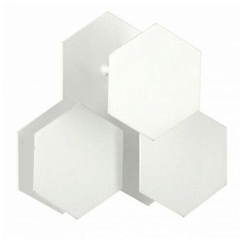 Biały wieszak ścienny - Tiato, bloom-bialy