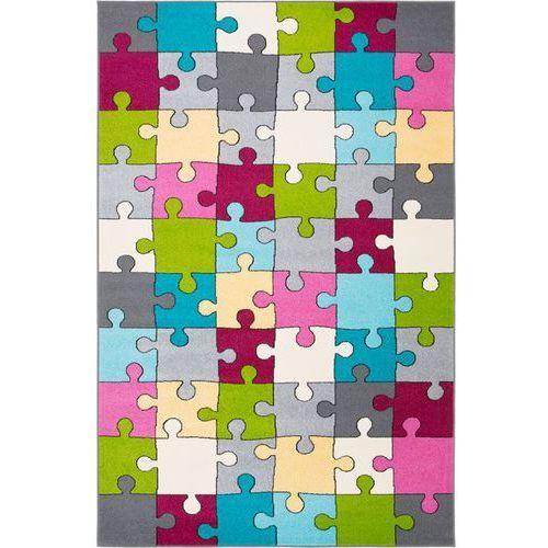 Dywan funky top super puzzle cyklamen 133x180 marki Agnella