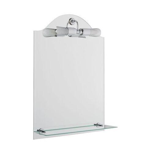 Lustro łazienkowe z oświetleniem kinkietowym LUNA 2 50 x 70 VENTI