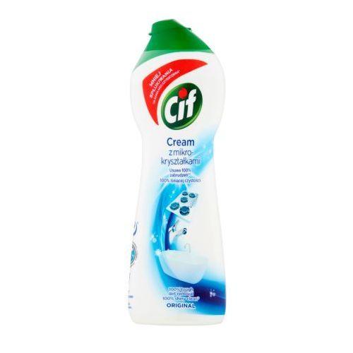 Mleczko do czyszczenia powierzchni Cif Cream Original z mikrokryształkami 300 g, 8710908805684