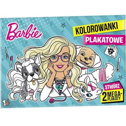 Barbie Kolorowanki plakatowe - Ameet OD 24,99zł DARMOWA DOSTAWA KIOSK RUCHU