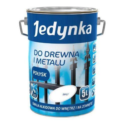 do drewna i metalu, połysk, biała 5 l. (farba alkidowa) marki Jedynka