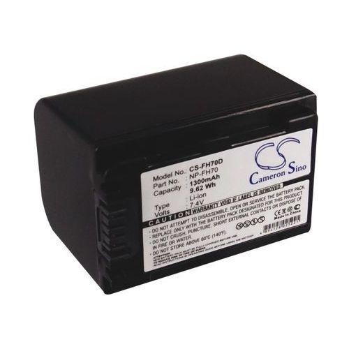Sony NP-FH70 1300mAh 9.62Wh Li-Ion 7.4V (Cameron Sino), GC-BCA088