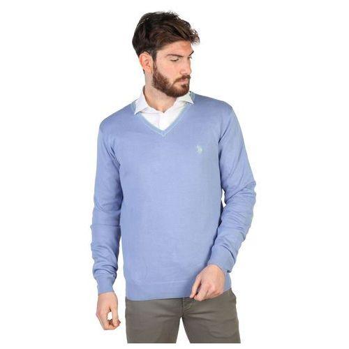 Sweter męski U.S. POLO - 42353_50357-21, kolor niebieski