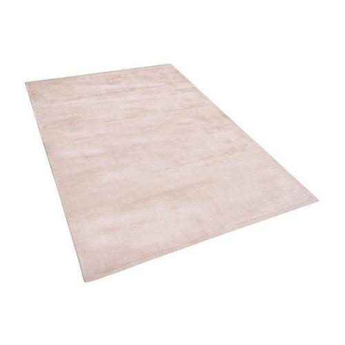 Dywan beżowy 140x200 cm krótkowłosy - chodnik - wiskoza - GESI