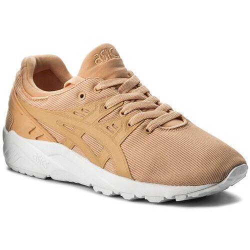 Sneakersy - tiger gel-kayano trainer evo h823n apricot ice/apricot ice 9595 marki Asics