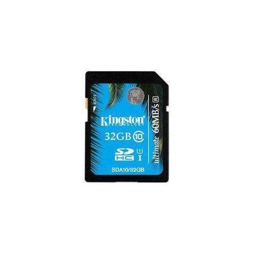 KINGSTON Karta Pamięci 32GB SDHC Class 10 UHS-I