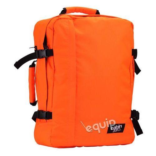 Plecak torba podręczna CabinZero + pokrowiec organizer gratis - galactic orange