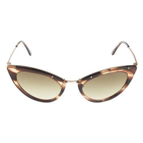 Tom ford grace okulary przeciwsłoneczne brązowy uni