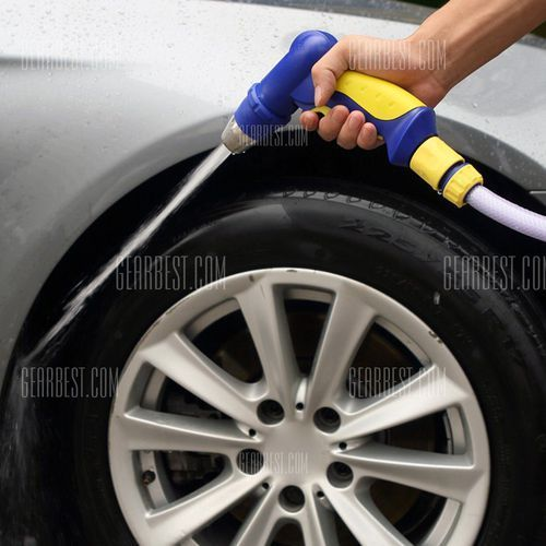 TOKUYI TO - GSB Adjustable Gun Sprinkler Spray Nozzle Set for Car Washing Garden