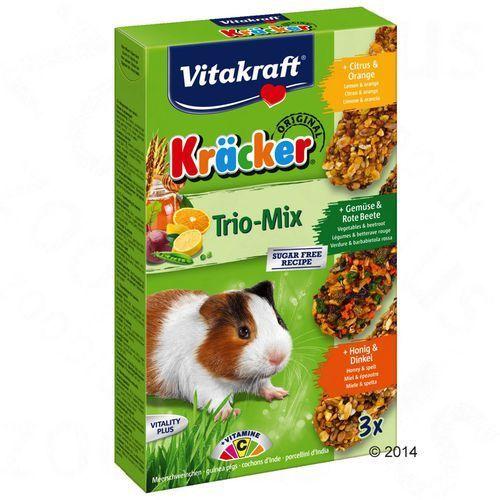 Vitakraft Multipack krakersy dla świnek morskich - 3 x 3 sztuki (miód, owoce, orzechy) (4008239253392)