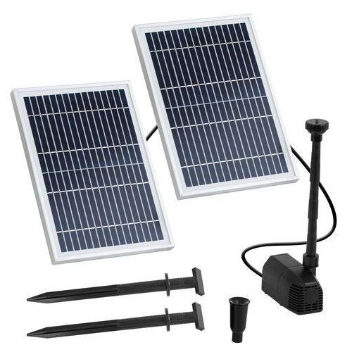 Uniprodo Pompa solarna do oczka wodnego - fontanna - 1350 l/h - 1,6 m UNI_PUMP_06 - 3 LATA GWARANCJI