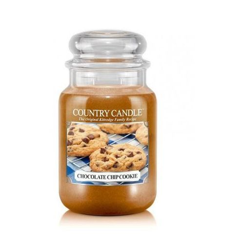 Country candle świeca zapachowa 652g chocolate chip cookie marki Kringle candle
