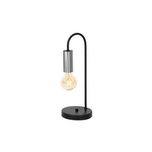loppe 602 lampka stołowa gabinetowa 1x60w e27 czarny / chrom marki Luminex