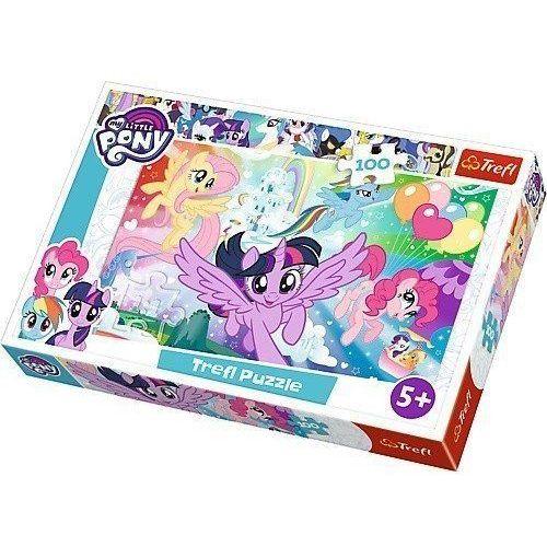 Puzzle 100 elementów - My Little Pony, Tęczowa kraina