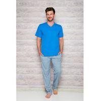piżama męska adam 2131 rękaw kr, Taro