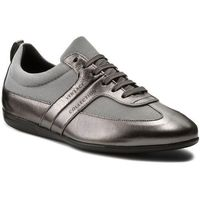 Sneakersy collection - v900677 vm00378 v717 grigio scuro/argento, Versace, 43-45