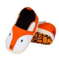 Kapcie-buciki Soxo Krokodylki, Liski 99241,99074 ABS ROZMIAR: 18-19, KOLOR: pomarańczowy/liski, Soxo, kolor pomarańczowy