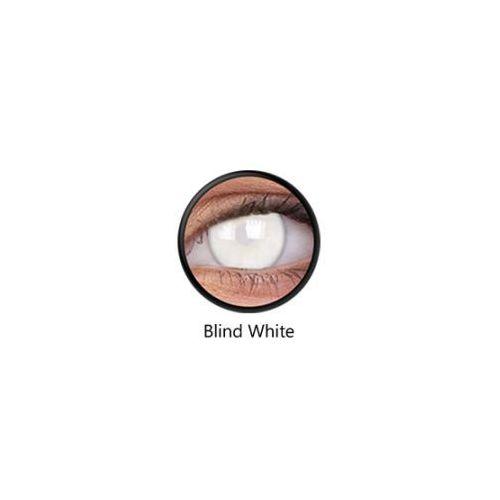 Maxvue vision Crazy lens - blind white, 2 szt.