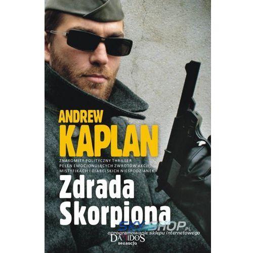 Zdrada Skorpiona - Andrew Kaplan, książka w oprawie miękkej