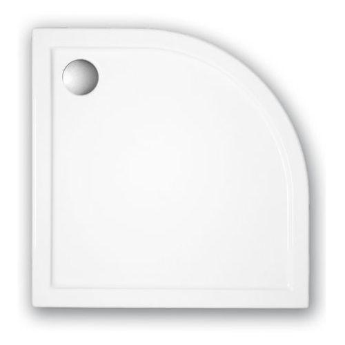 SCHEDPOL CORRINA Brodzik półokrągły 90cm, akrylowy 3.064