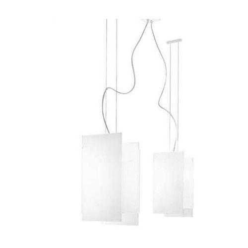 Lampa wisząca triad 1200 biała żarówki led gratis!, 90211 marki Linea light