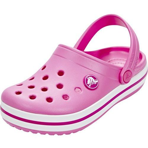 Crocs crocband sandały kąpielowe party pink